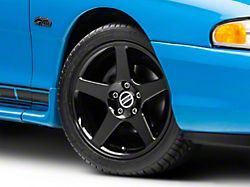 2003 Cobra Style Black Wheel; 17x9 (94-98 All)