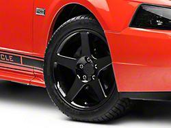 2003 Cobra Style Black Wheel; 17x9 (99-04 All)