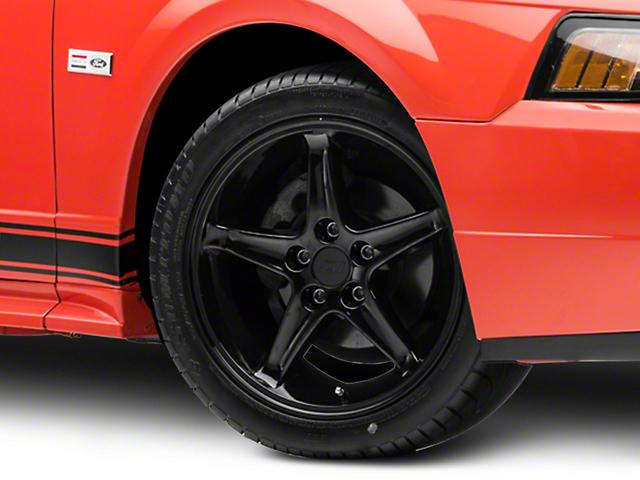 1995 Cobra R Style Black Wheel; 17x9 (99-04 All)