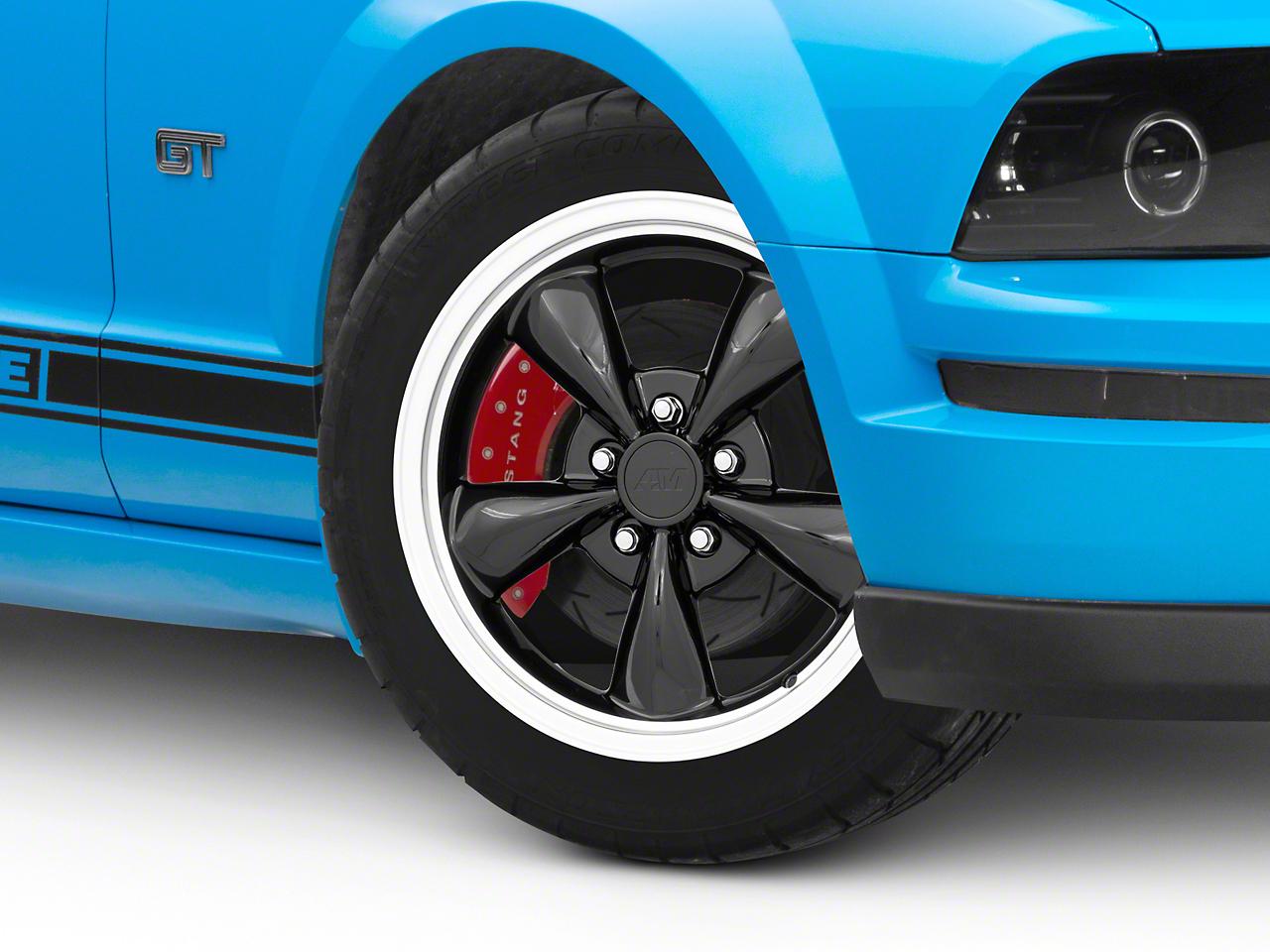 Bullitt Black Wheel - 17x8 (05-10 GT; 05-14 V6)