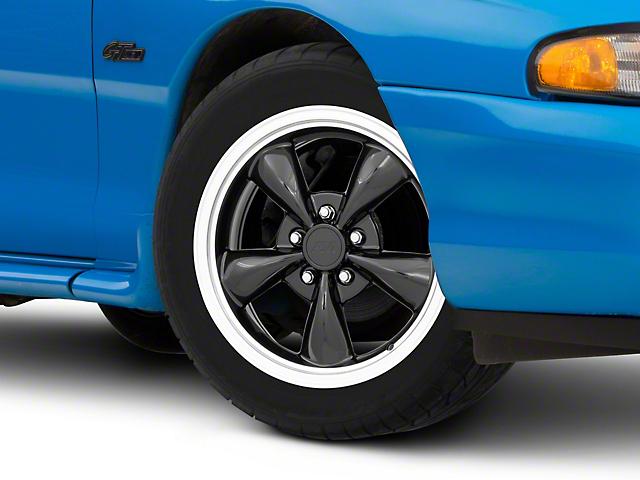 Bullitt Black Wheel; 17x8 (94-98 All)