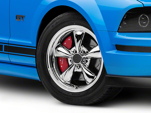 Bullitt Chrome Wheel; 17x9 (05-09 GT, V6)