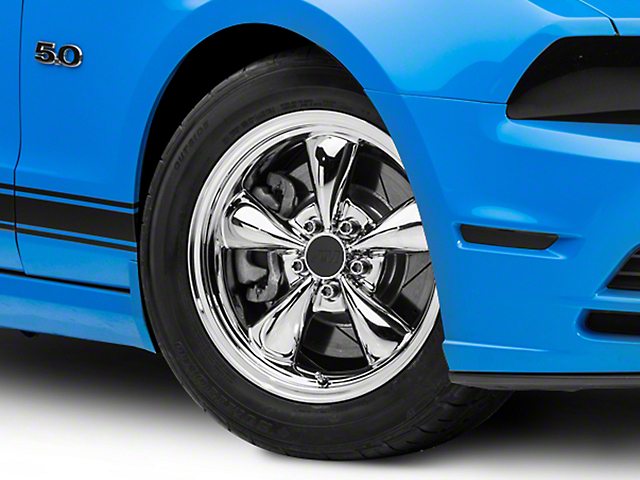 Bullitt Chrome Wheel; 17x9 (2010 GT; 10-14 V6)
