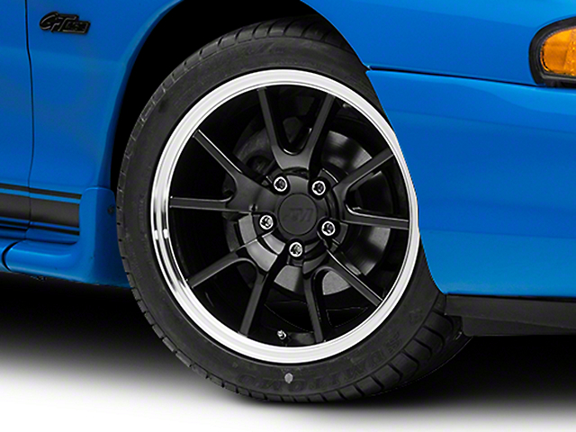 FR500 Style Black Wheel - 17x9 (94-04 All)