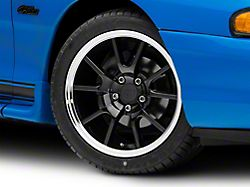 Add FR500 Style Black Wheel - 17x9 (94-04 All)