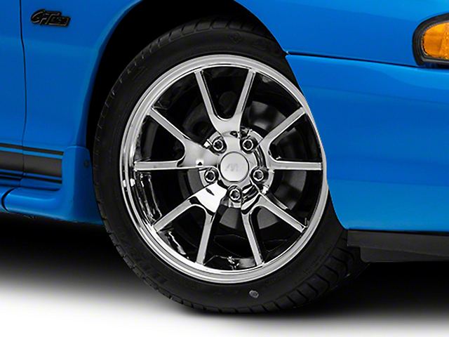 Mustang Fr500 Style Chrome Wheel 17x9 94 04 All