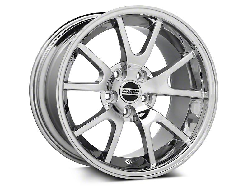 Deep Dish FR500 Style Chrome Wheel - 17x10.5 (94-04 All)