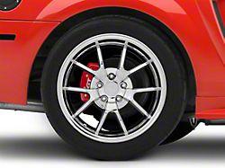 Deep Dish FR500 Style Chrome Wheel; Rear Only; 18x10 (99-04 All)