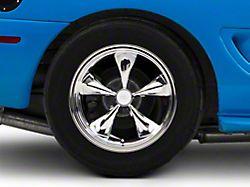 Deep Dish Bullitt Chrome Wheel; Rear Only; 17x10.5 (94-98 All)