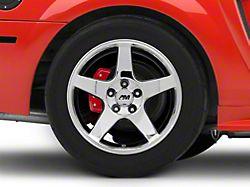 2003 Cobra Style Chrome Wheel; Rear Only; 17x10.5 (99-04 All)