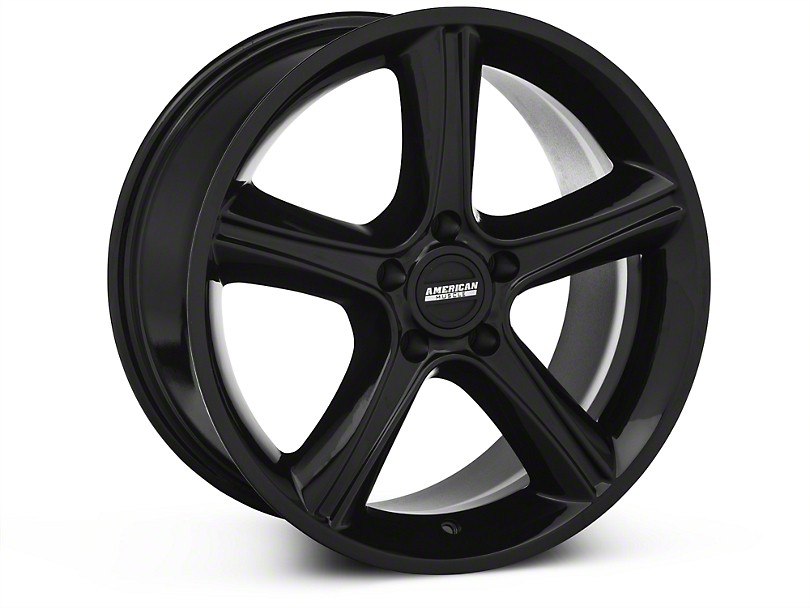 2010 GT Premium Style Black Wheel - 18x9 (87-93 5 Lug Conversion)