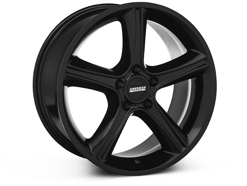 2010 GT Premium Style Black Wheel - 18x9 (87-93 w/ 5 Lug Conversion)
