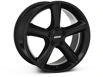 2010 GT Premium Style Black Wheel - 18x9 (87-93 w/ 5 Lug Conversion)