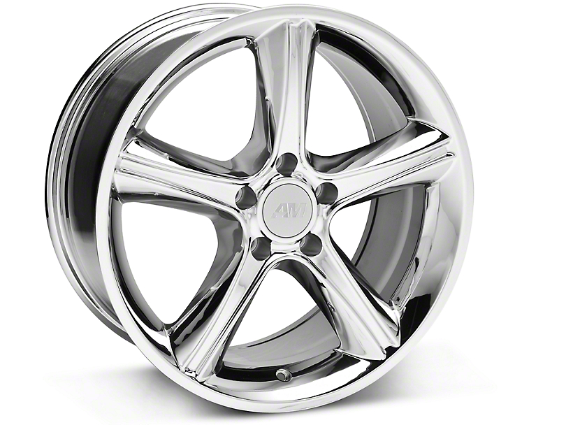 2010 GT Premium Style Chrome Wheel - 18x9 (87-93 w/ 5 Lug Conversion)