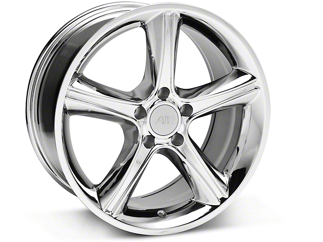 2010 GT Premium Style Chrome Wheel; 18x9 (87-93 w/ 5 Lug Conversion)