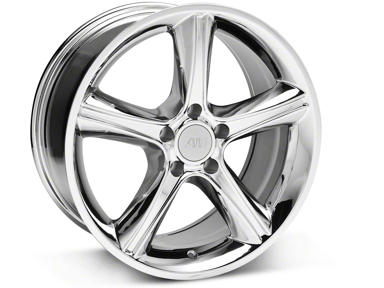 2010 GT Premium Style Chrome Wheel - 18x9 (87-93 w/ 5 Lug Conversion)