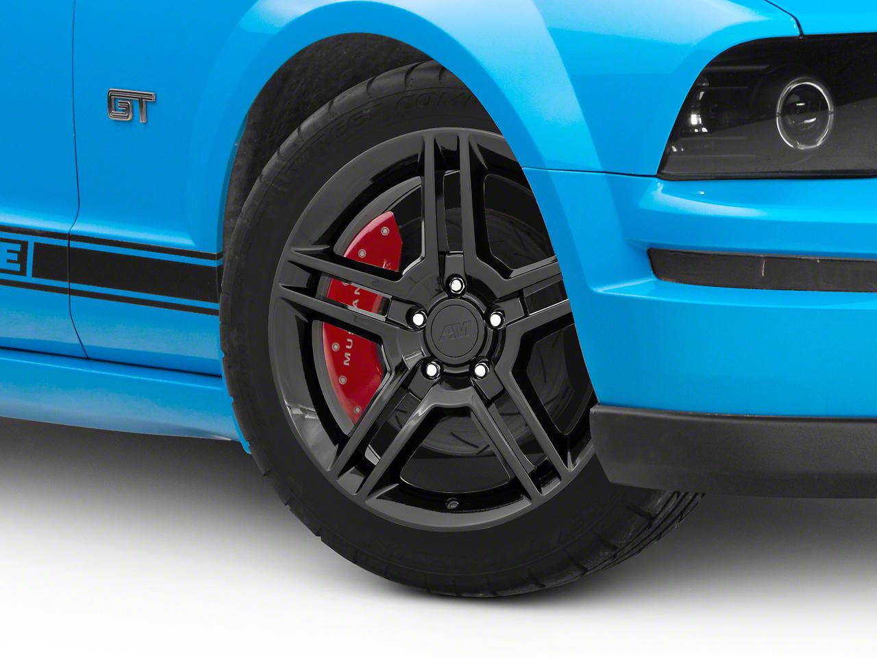 2010 GT500 Style Black Wheel - 18x9 (05-14 All)