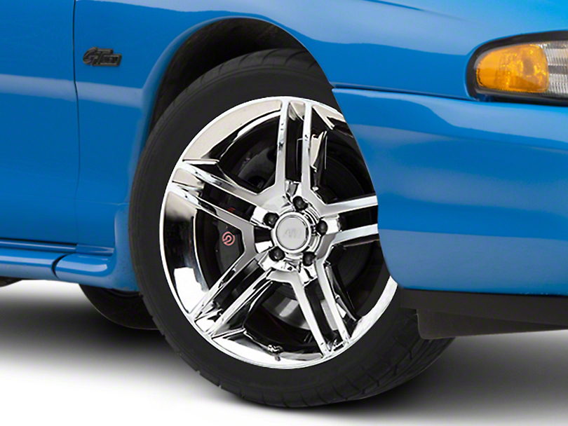 2010 GT500 Style Chrome Wheel - 18x9 (94-04 All)