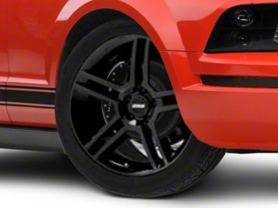 mustang 2010 gt500 style black wheel 19x8 5 05 14 all 07 Mustang California Special