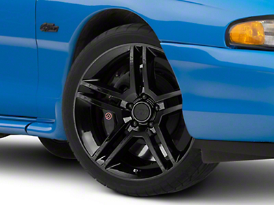 2010 GT500 Style Black Wheel - 19x8.5 (94-04 All)