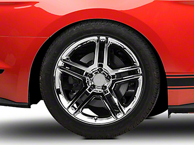 2010 GT500 Style Chrome Wheel - 19x10 (15-18 GT, EcoBoost, V6)
