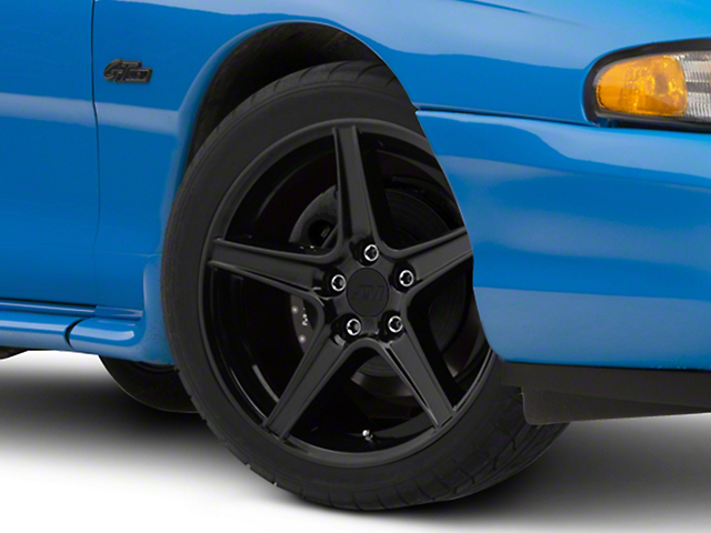Saleen Style Black Wheel; 18x9 (94-98 All)