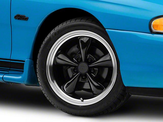 Bullitt Black Wheel; 17x9 (94-98 All)