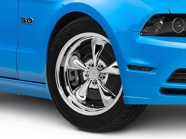 Deep Dish Bullitt Chrome Wheel; 18x9 (2010 GT; 10-14 V6)