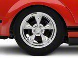 Deep Dish Bullitt Chrome Wheel; Rear Only; 18x10 (05-09 GT, V6)