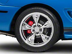 Deep Dish Bullitt Chrome Wheel; Rear Only; 18x10 (94-98 All)