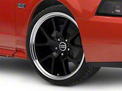 FR500 Style Gloss Black Machined Wheel; 18x9 (99-04 All)
