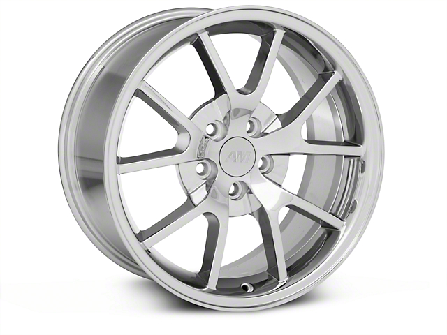FR500 Style Chrome Wheel; 18x9 (94-98 All)