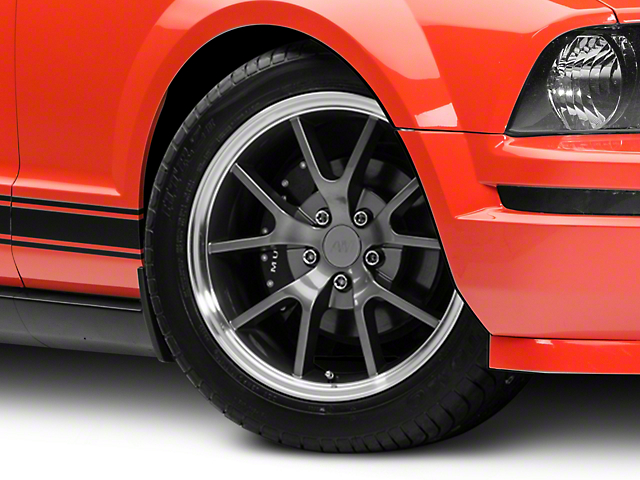 FR500 Style Anthracite Wheel; 18x9 (05-09 All)