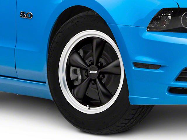 Bullitt Matte Black Wheel; 17x8 (2010 GT; 10-14 V6)