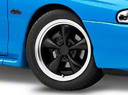 Bullitt Matte Black Wheel; 17x8 (94-98 All)