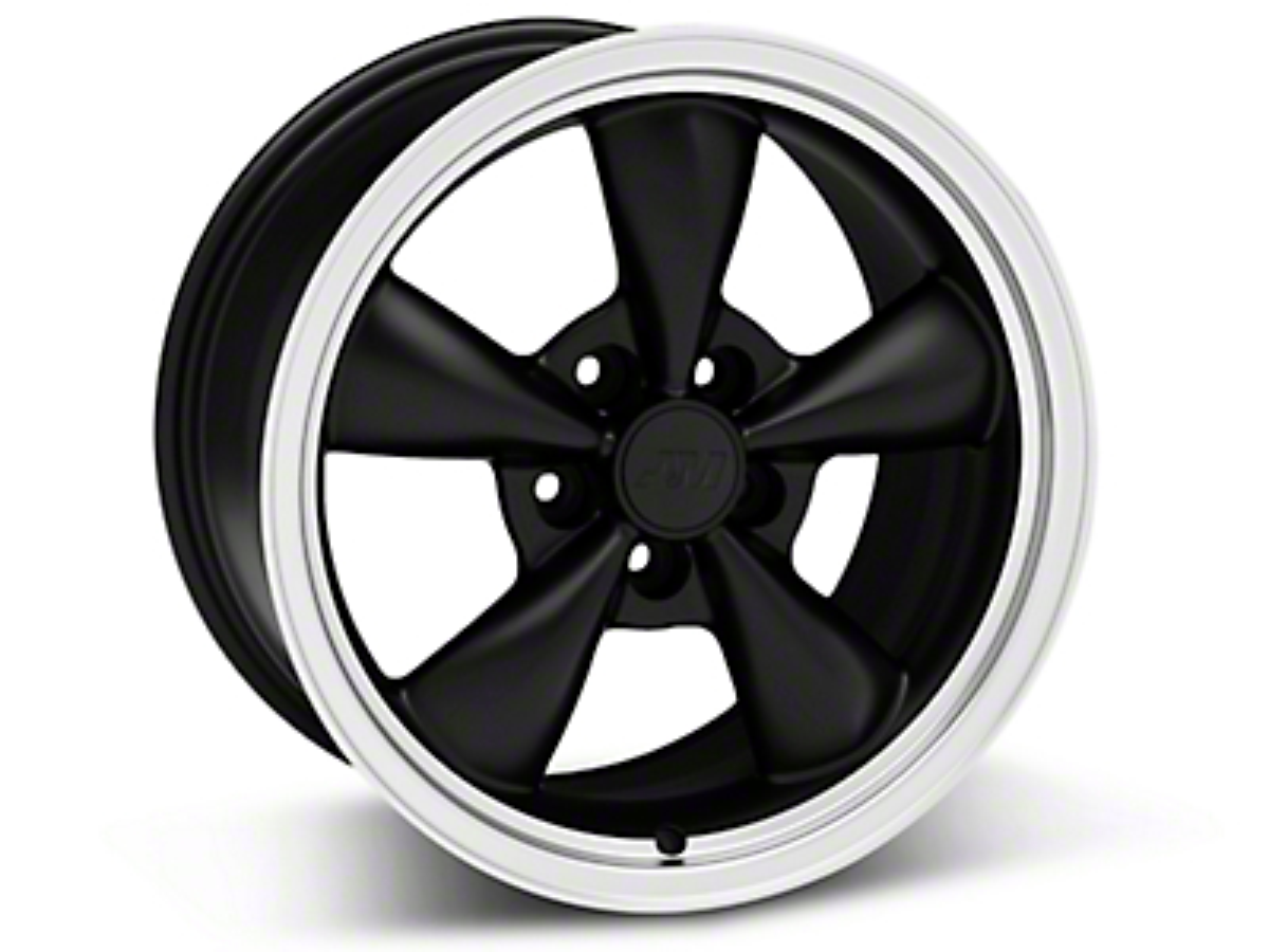 Bullitt Matte Black Wheel - 17x9 (05-10 GT; 05-14 V6)