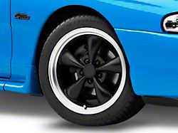 Bullitt Matte Black Wheel; 17x9 (94-98 All)