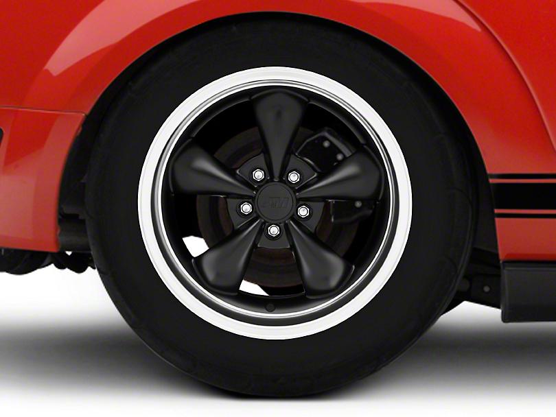 Bullitt Deep Dish Matte Black Wheel - 18x10 (05-14 Standard GT, V6)