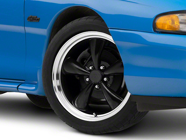 Bullitt Black Wheel; 18x8 (94-98 All)