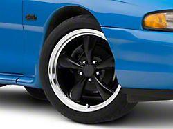 Bullitt Gloss Black Wheel; 18x8 (94-98 All)