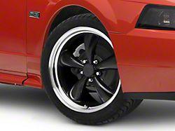 Bullitt Black Wheel; 18x8 (99-04 All)