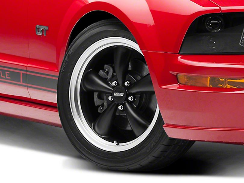 Bullitt Matte Black Wheel - 18x8 (05-14 Standard GT, V6)