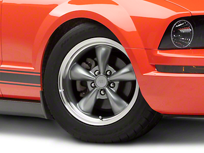 Bullitt Anthracite Wheel - 17x9 (05-10 GT; 05-14 V6)