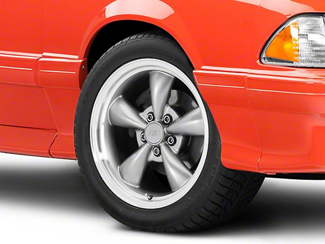 Bullitt Anthracite Wheel - 17x9 (87-93 w/ 5 Lug Conversion)