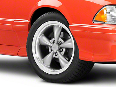 Bullitt Anthracite Wheel - 17x9 (87-93 w/ 5 Lug Conversion)