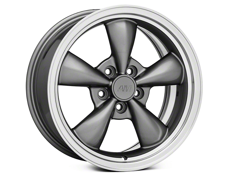 Bullitt Anthracite Wheel - 17x8 (05-14 V6; 05-10 GT)