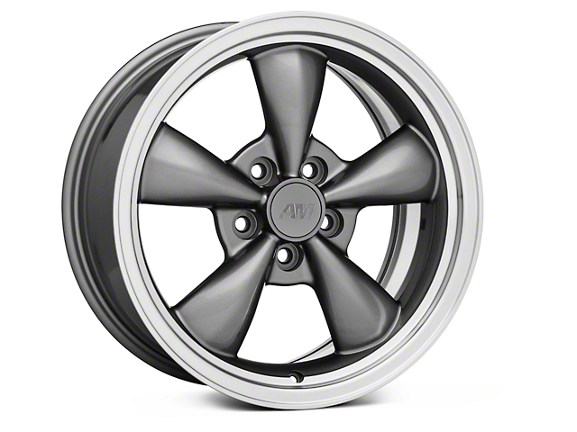 Bullitt Anthracite Wheel - 17x8 (94-98 All)