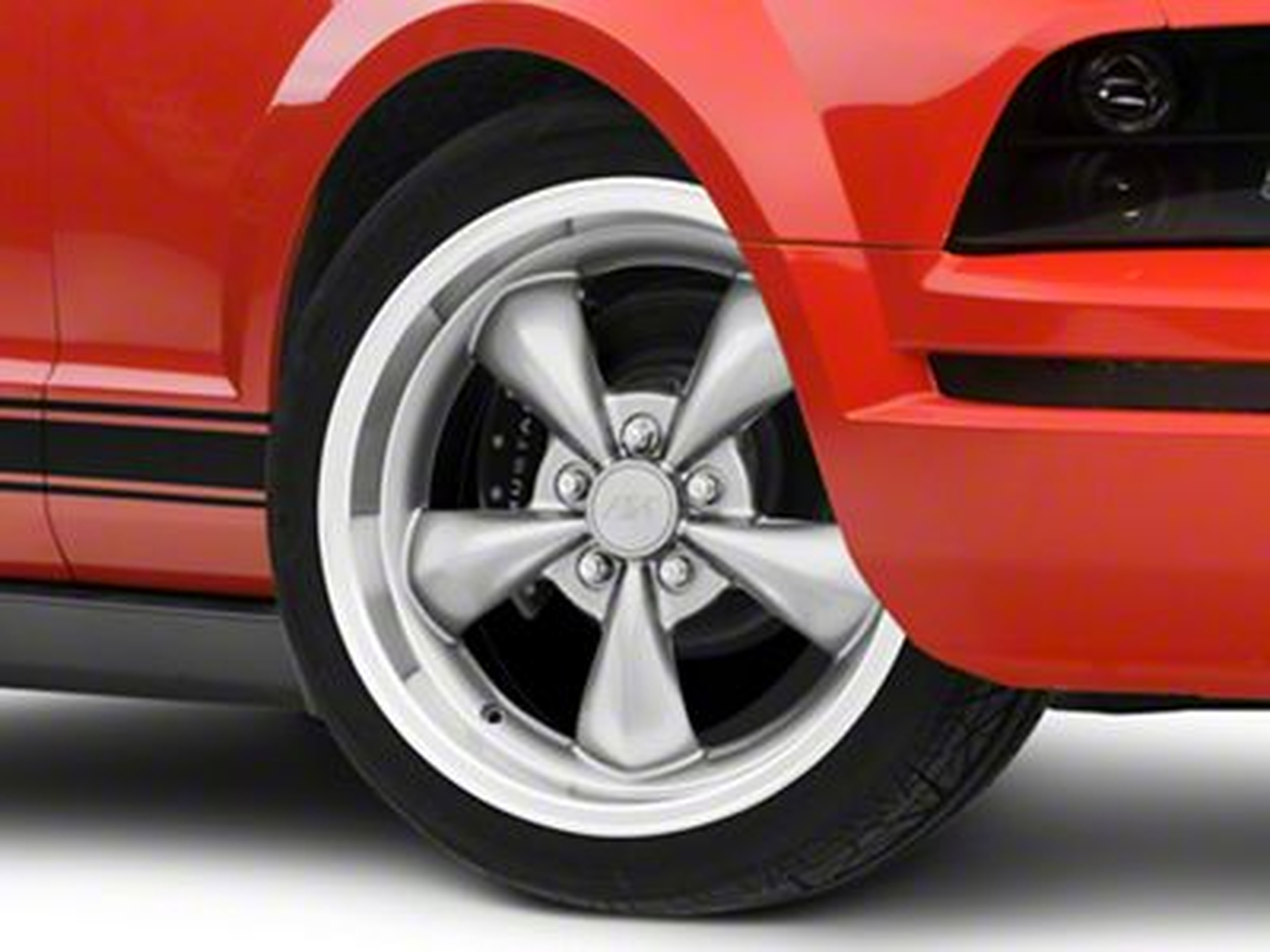 mustang deep dish bullitt anthracite wheel 18x9 05 10 gt 05 14 v6 Audi Control Arm 144 00