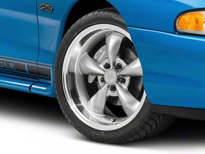 mustang deep dish bullitt anthracite wheel 18x9 94 04 all Ford Mustang Accessories