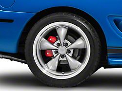 Deep Dish Bullitt Anthracite Wheel; Rear Only; 18x10 (94-98 All)